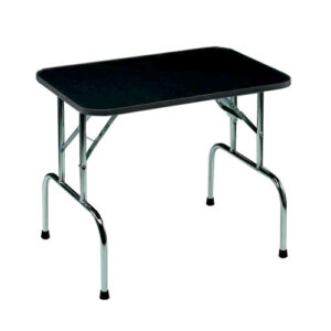 grooming table for pets in alaska, black color with white background