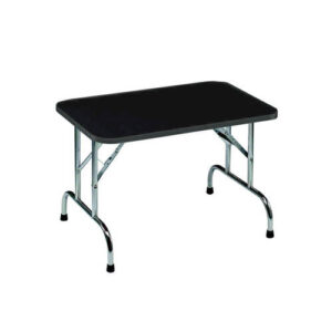 grooming table for pets in alaska, black color with white background, standard table short
