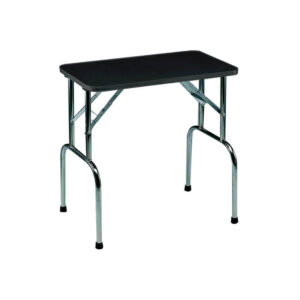 grooming table for pets in alaska, black color with white background, toy grooming table
