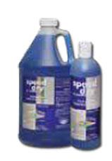 Speed Dry Shampoo picture, blue liquid inside.